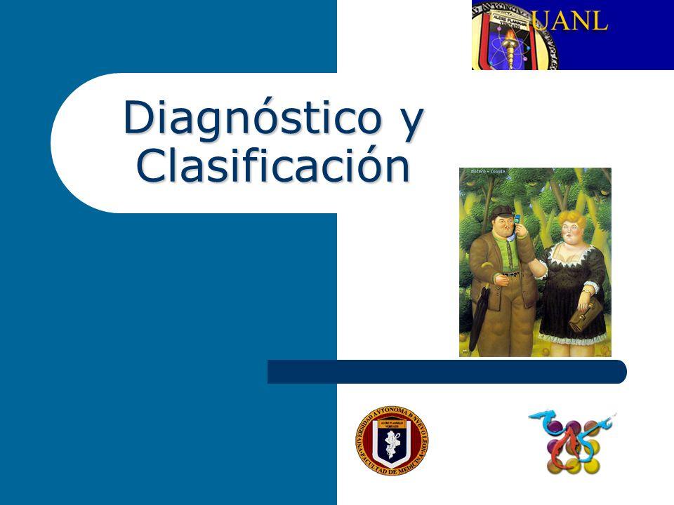 Diagnóstico y Clasificación