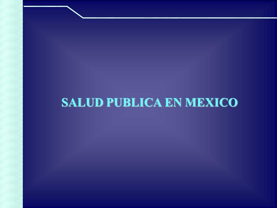 SALUD PUBLICA EN MEXICO