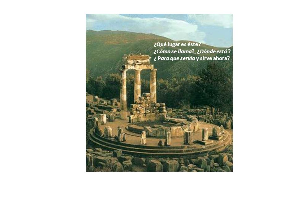 Es el Templo de los Oráculos o de las Predicciones.