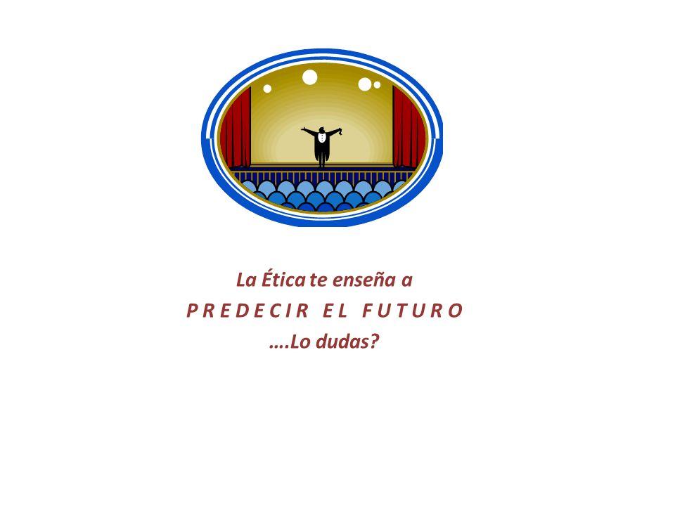 En Ética, Sociedad y Profesión, podrás predecir con alto grado de certeza, tu futuro y el de la sociedad en la que vives, al iniciarte en el estudio de: ti mismo y de tu origen.