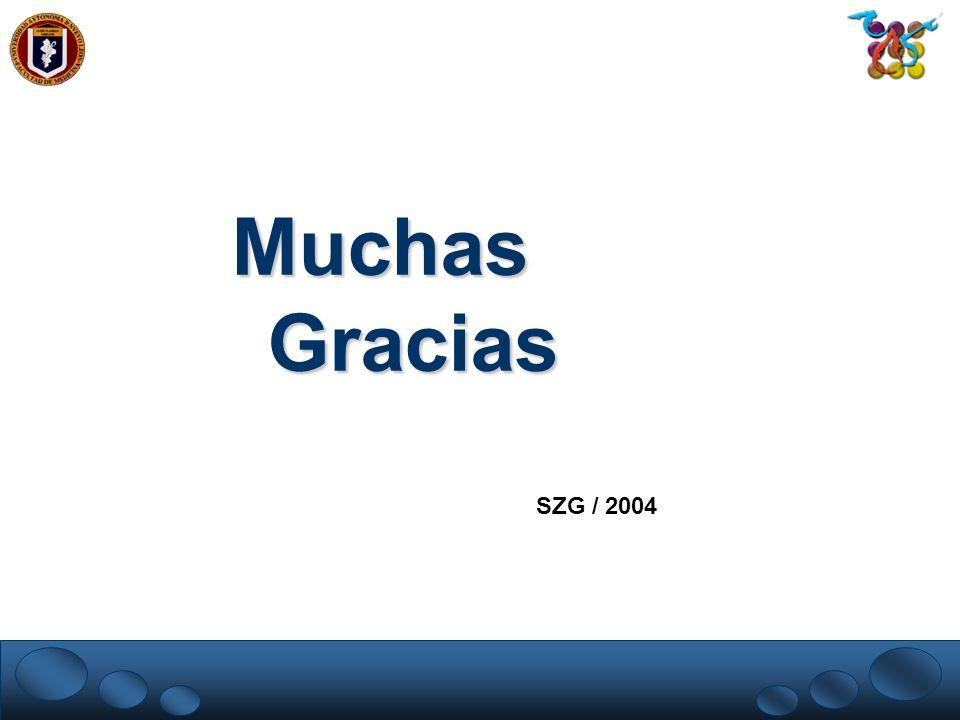 Muchas Gracias SZG / 2004