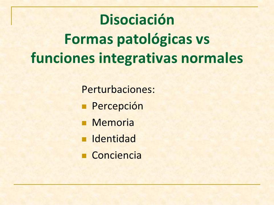 Diagnostico diferencial AD El regreso del recuerdo, en trastorno mental orgánico es gradual y en general incompleto.