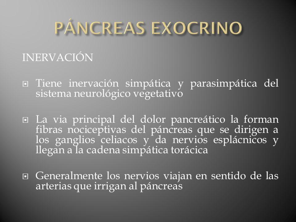 Lesiones irreversibles del tipo fibrosis pancreática y pérdida de la función del tejido pancreático exocrino, endocrino, o de ambos Causa más frecuente, abuso de alcohol