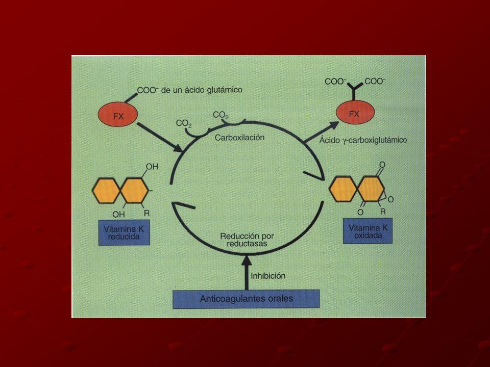 Concentración mínima necesaria de los factores para su función normal I........................................