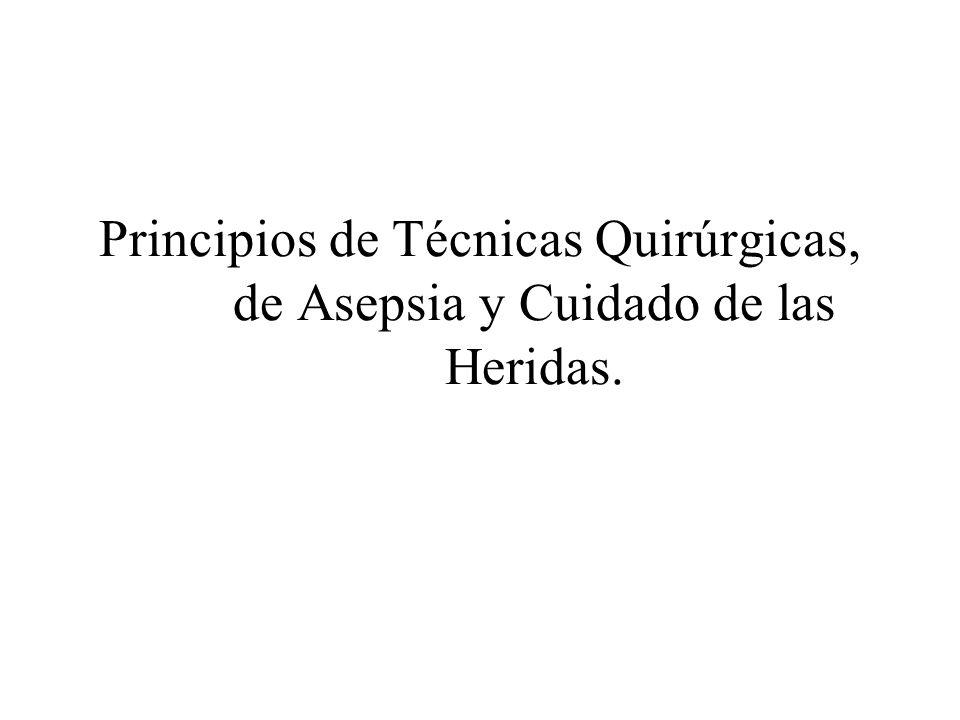 MANEJO DE LA HERIDA TIPOS DE REPARACIÓN 1.