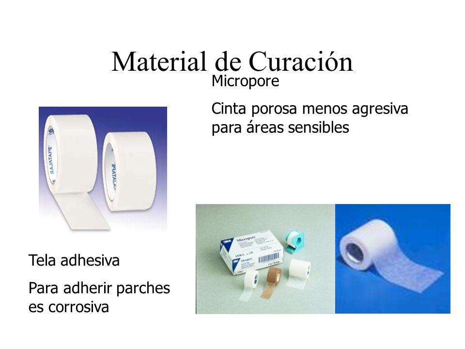Material de Curación Micropore Cinta porosa menos agresiva para áreas sensibles Tela adhesiva Para adherir parches es corrosiva