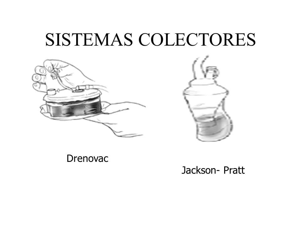 SISTEMAS COLECTORES Drenovac Jackson- Pratt