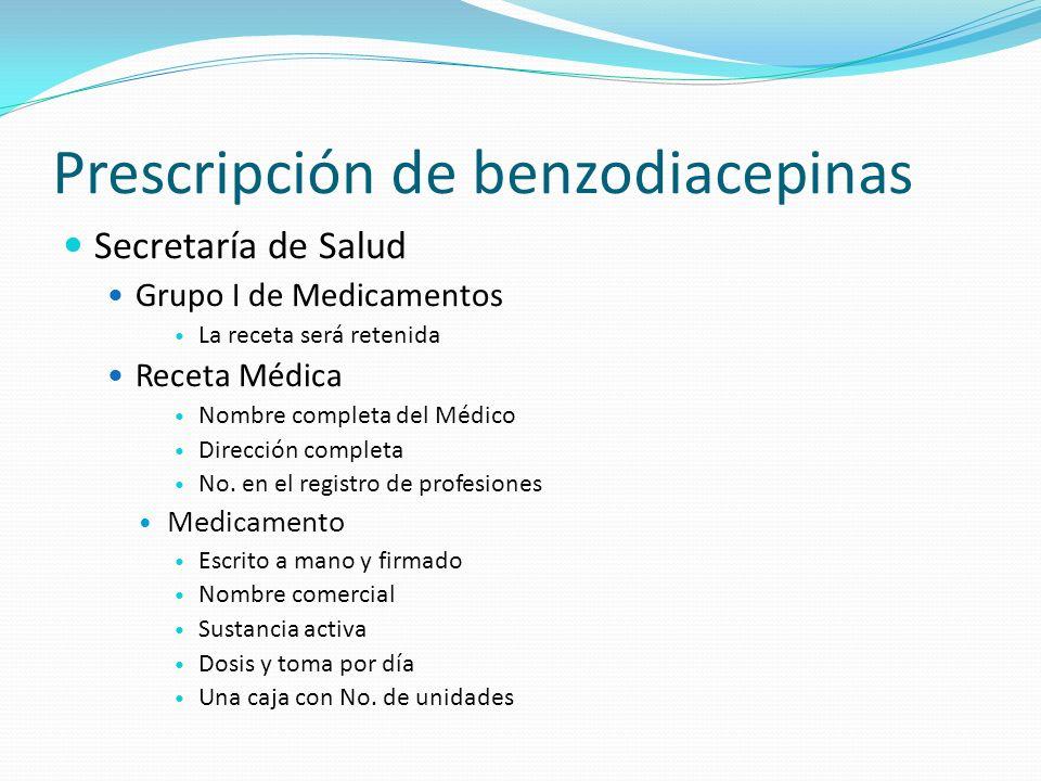 Secretaría de Salud Grupo I de Medicamentos La receta será retenida Receta Médica Nombre completa del Médico Dirección completa No. en el registro de