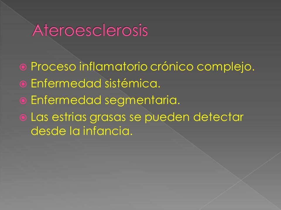 Proceso inflamatorio crónico complejo.Enfermedad sistémica.