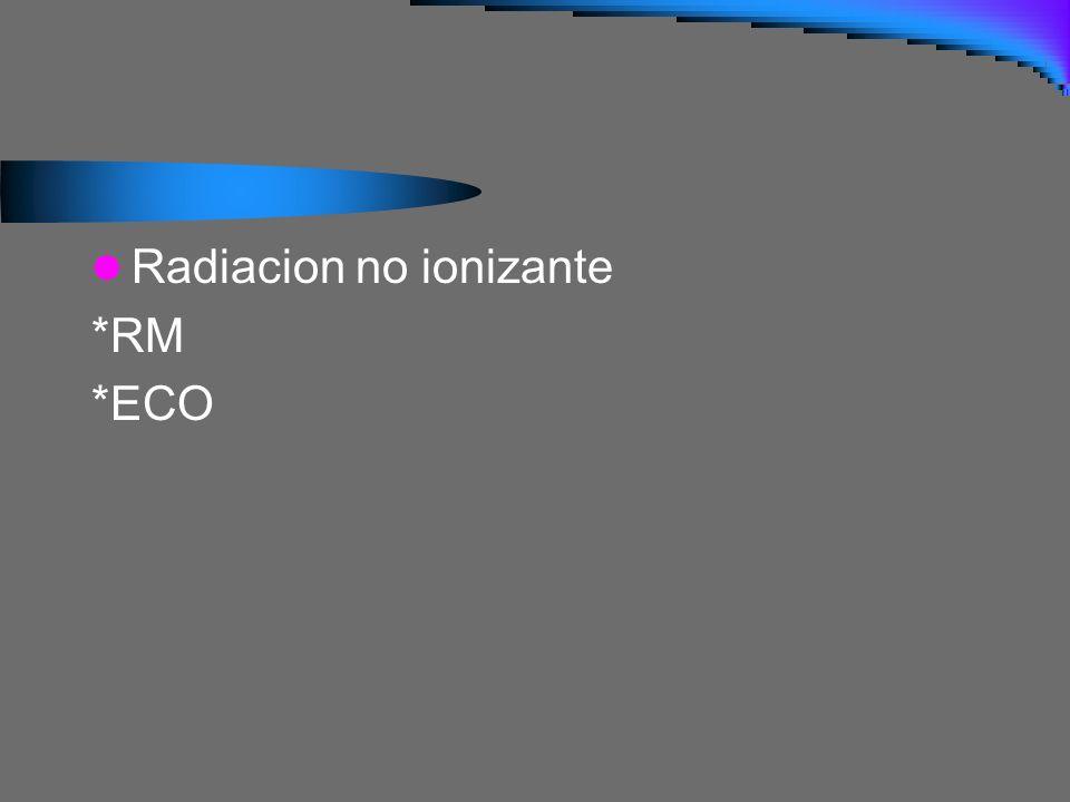 Cuales son las densidades radiológicas? Agua Gas Grasa Metal