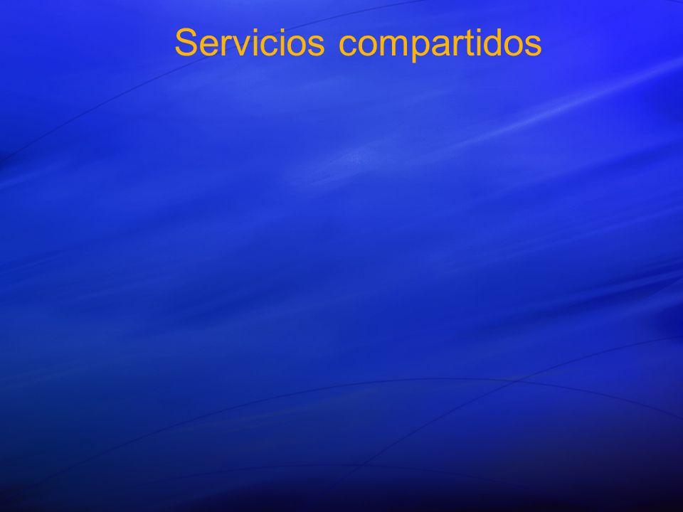 Servicios compartidos