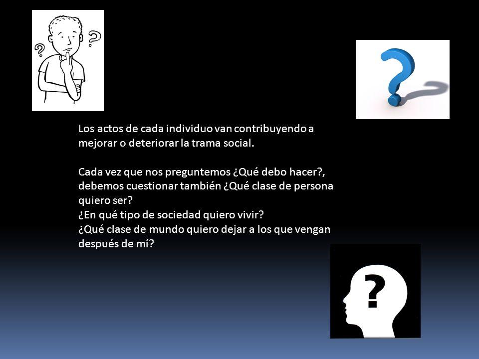 La Fundación México Unido presento el siguiente panorama en las jerarquías valorativas.