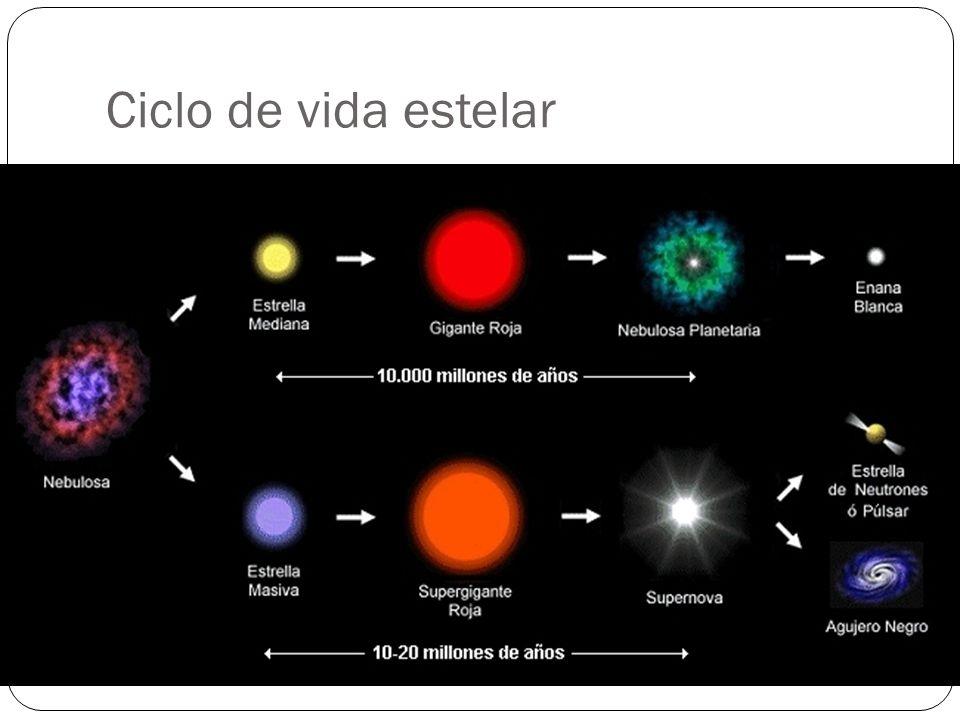 Ciclo de vida estelar