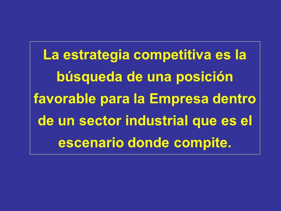 La ventaja competitiva nace del valor que una empresa logra crear para sus clientes sin descuidar el costo.