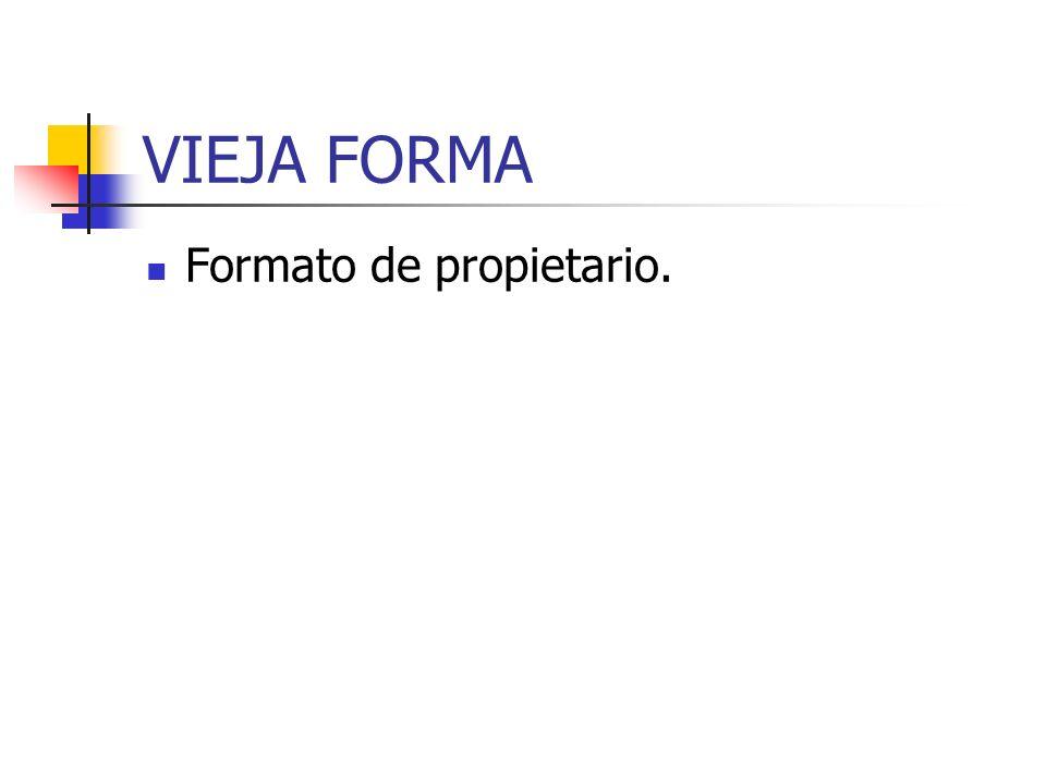 NUEVA FORMA Leible, estándar, universal,... Primera página Está es mi primera página usando HTML.