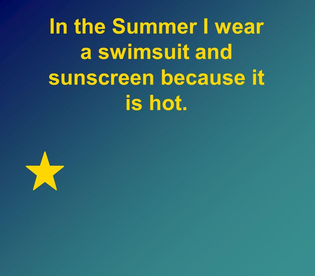 ¿Cómo se dice en español I wear shorts on the tennis court because it is sunny. ?