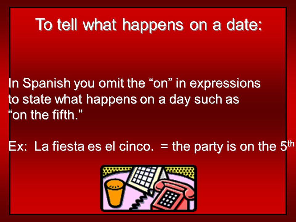 Use primero (1º) for the first day of any month: Hoy es el primero de enero del 2000. Mi cumpleaños es el primero de agosto. Hoy es el primero de ener