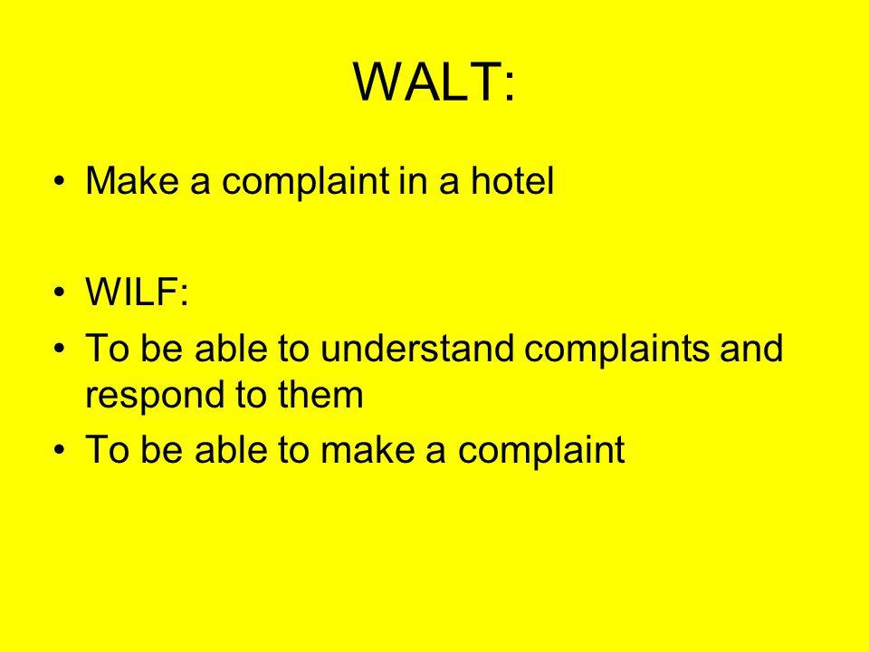 Starter: Se refieren al HOTEL o al CAMPING o los DOS.
