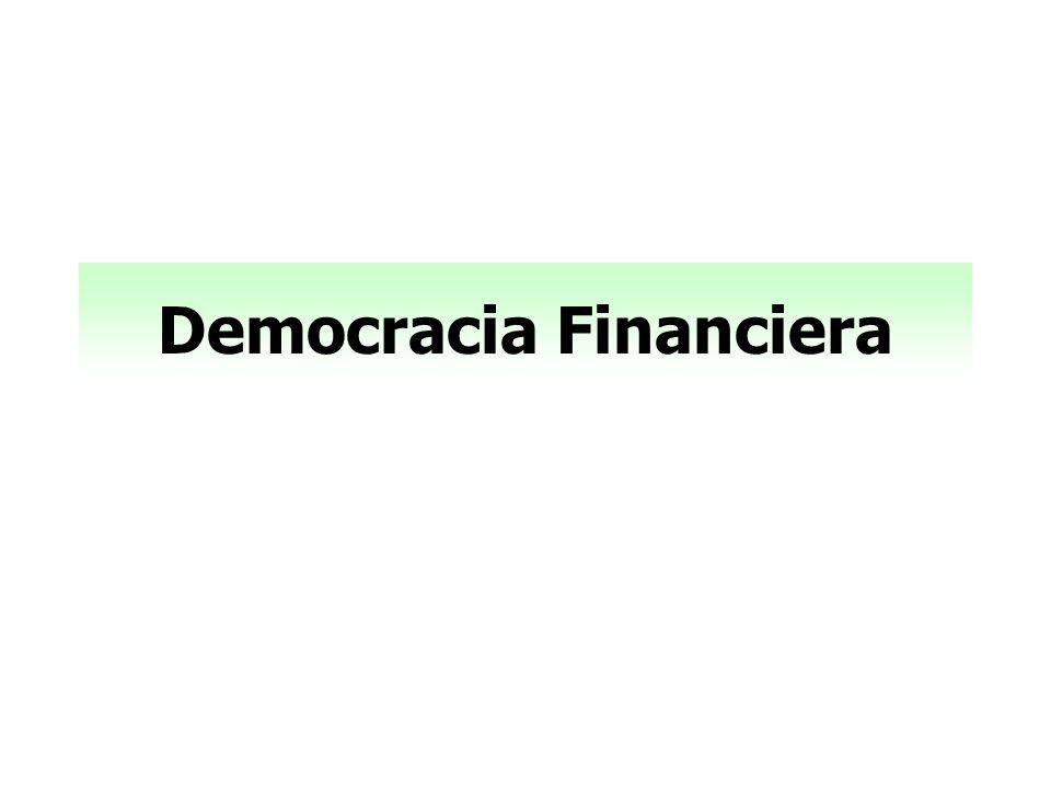 Democracia Financiera
