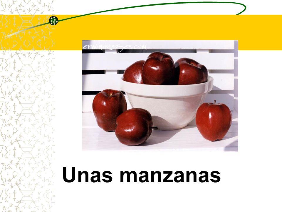 Unas manzanas