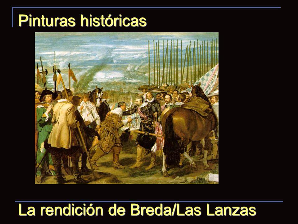 Pinturas históricas La rendición de Breda/Las Lanzas