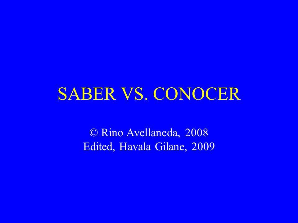 Los usos de saber - The uses of saber 4.