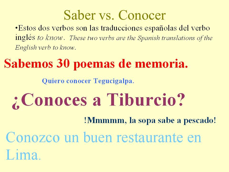 SABER VS. CONOCER © Rino Avellaneda, 2008 Edited, Havala Gilane, 2009