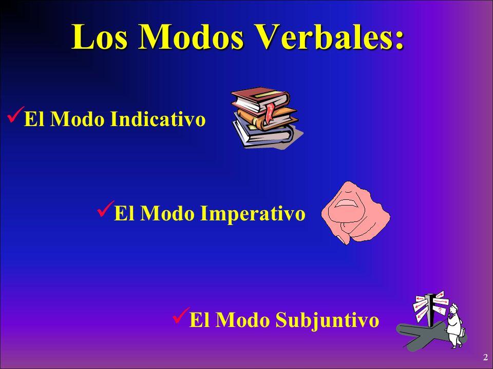 22 In Noun Clauses, the Subjunctive does not just happen, it is caused: La causa del subjuntivo está en la cláusula principal (main clause).