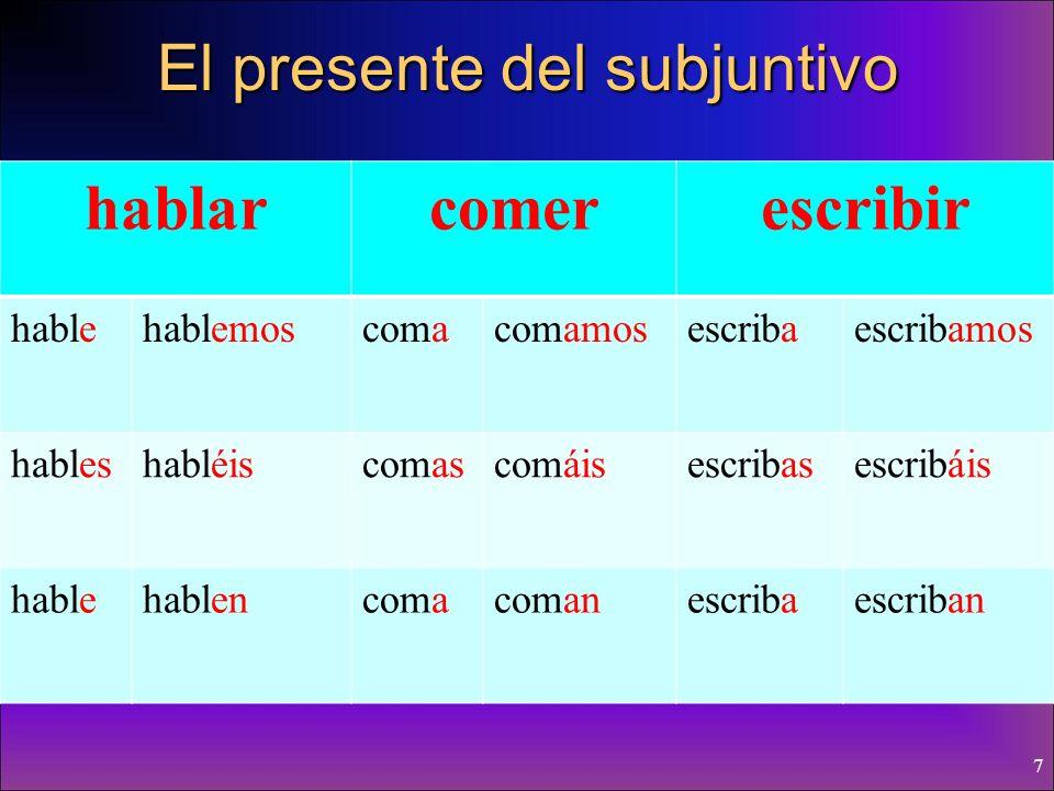 47 Hay dos tipos de cláusulas condicionales que usamos en español: (If…then…)(If…then…) 1.