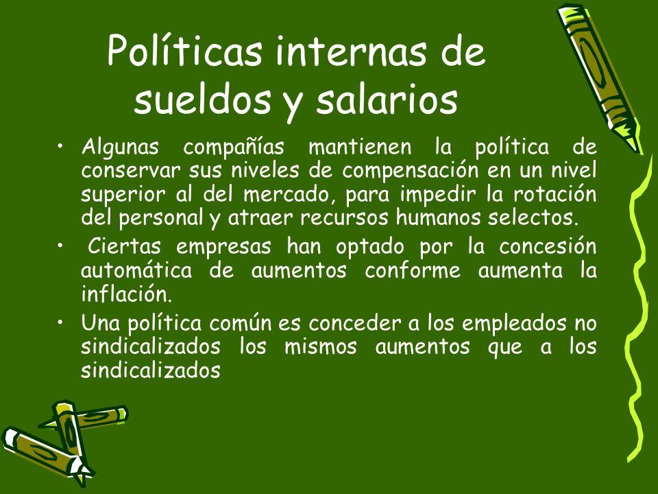A través de Administración de Sueldos y Salarios, se las estrategias y políticas de la organización para garantizar la equidad salarial interna y el m