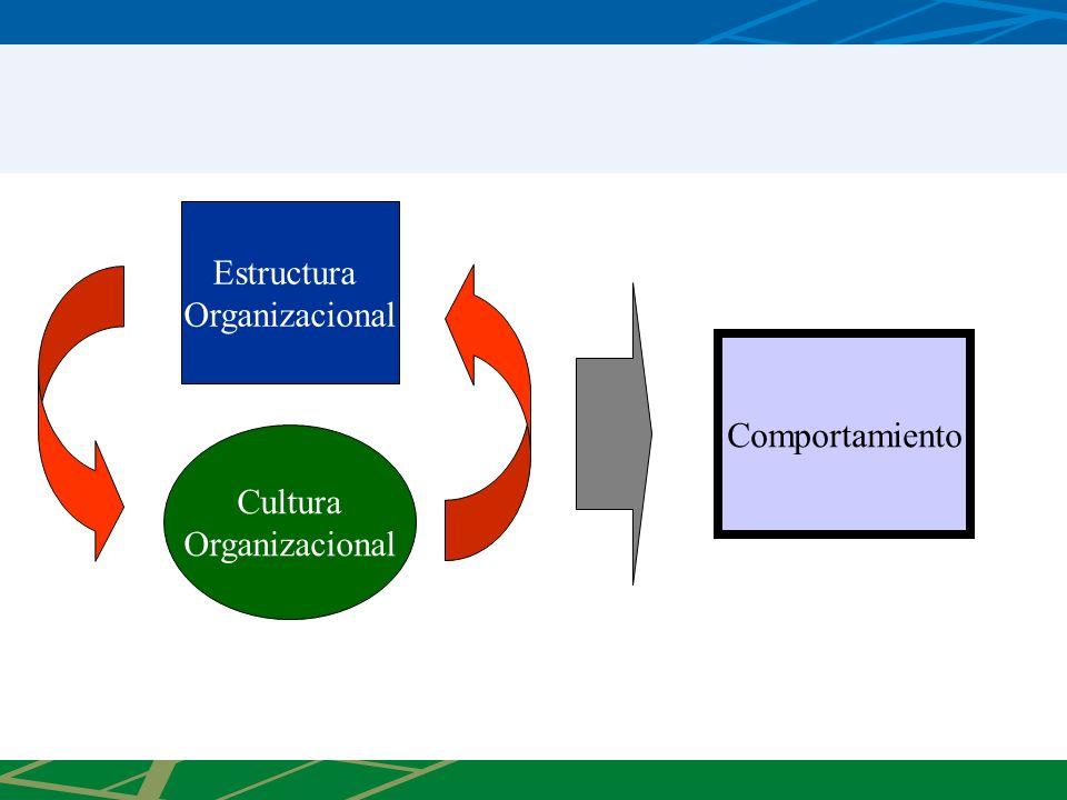 Estructura Organizacional Cultura Organizacional Comportamiento