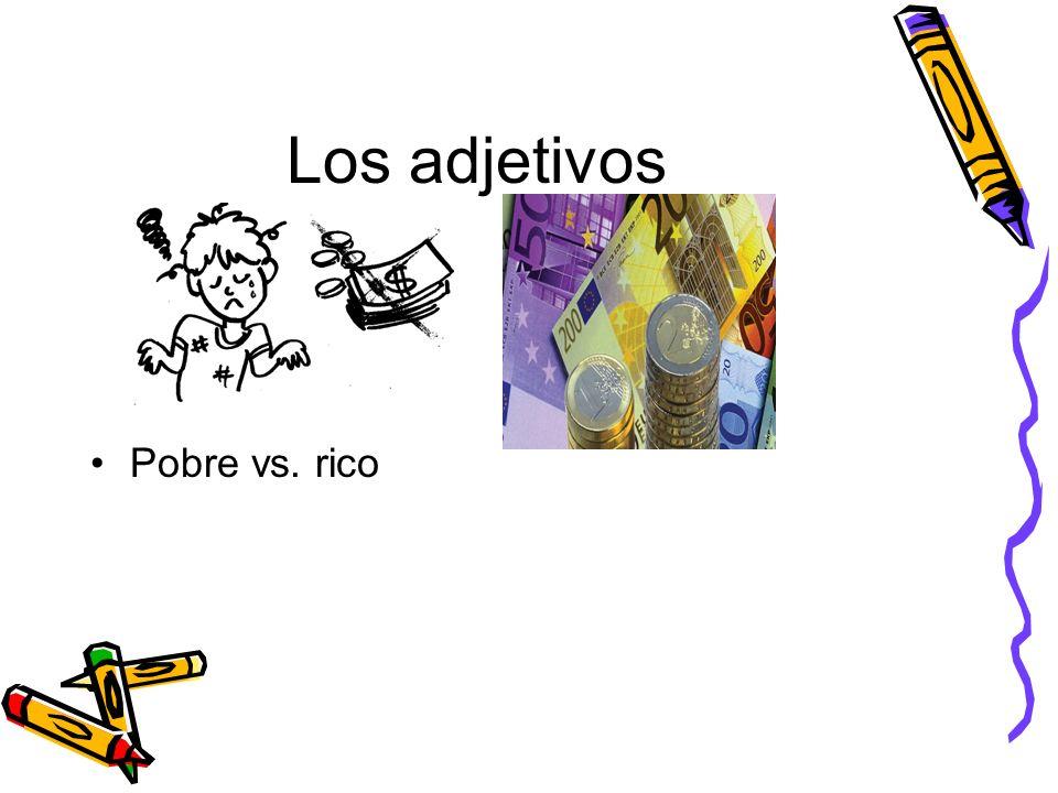 Los adjetivos Bueno/a vs. malo/a