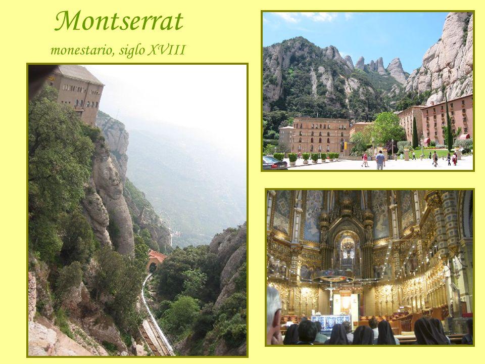 Montserrat monestario, siglo XVIII