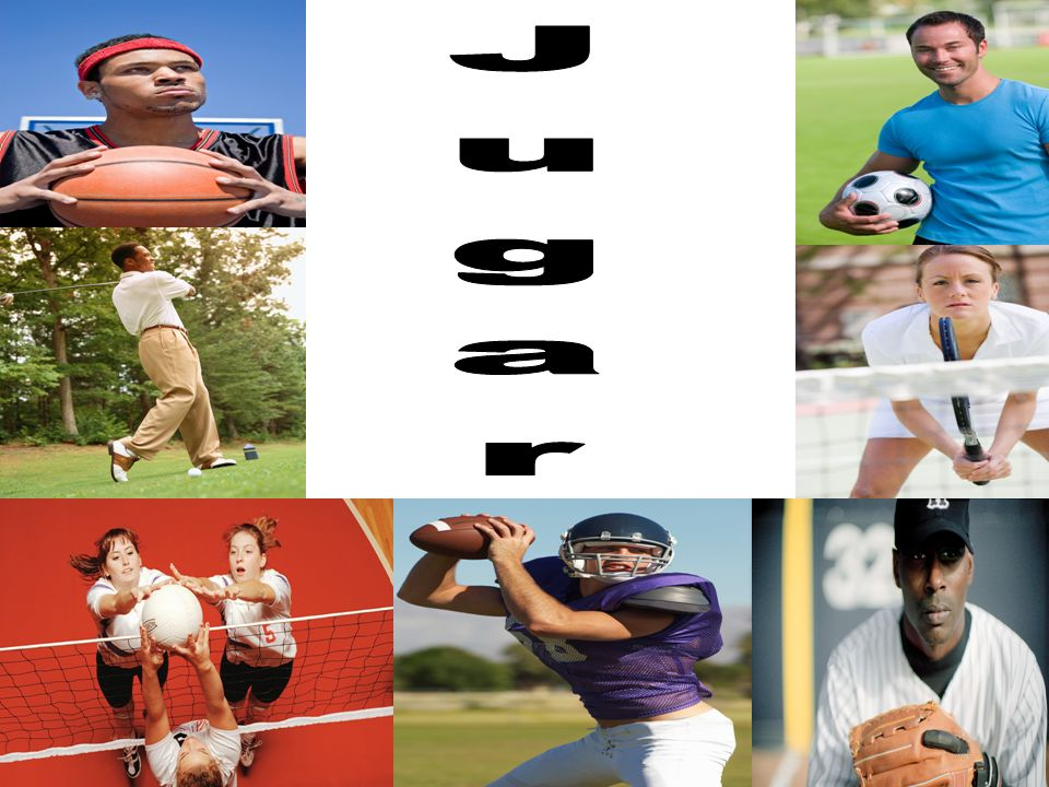 Use the verb jugar to talk about playing a sport or game.