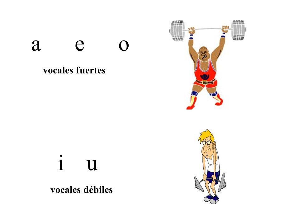 Reglas para dividir en sílabas.