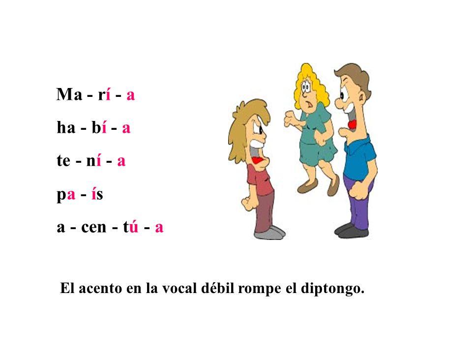 Son esdrújulas las palabras que llevan la fuerza de la pronunciación en la antepenúltima sílaba.