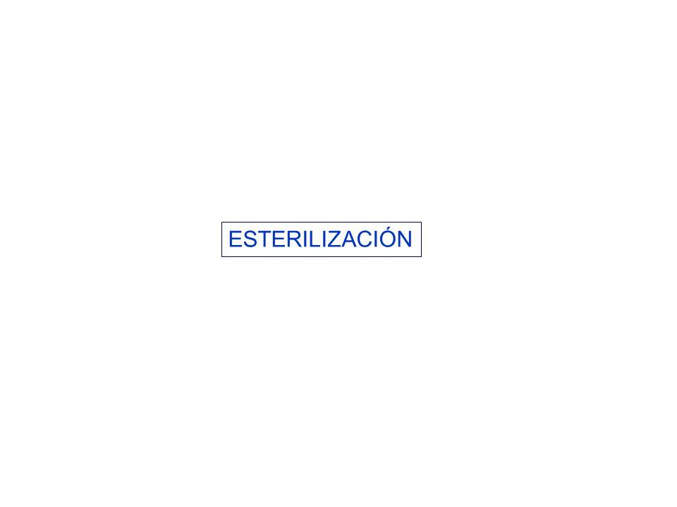 MEDIOS PARA LA ESTERILIZACIÓN 1.Calor.