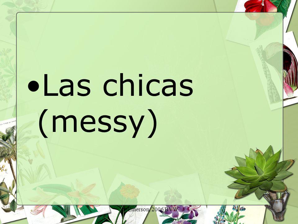 M. Emerson, 2006 BVW Las chicas (messy)