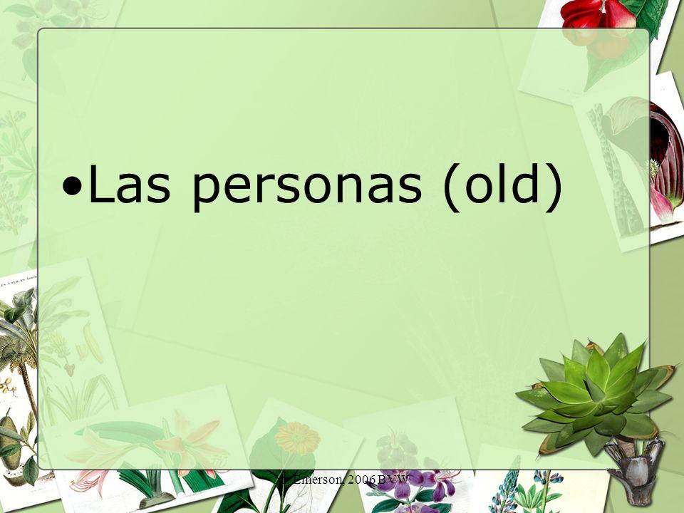 M. Emerson, 2006 BVW Las personas (old)