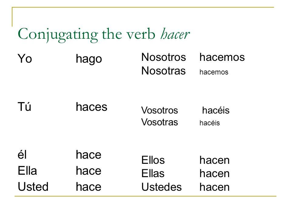 Present tense of stem-changing verbs p 113