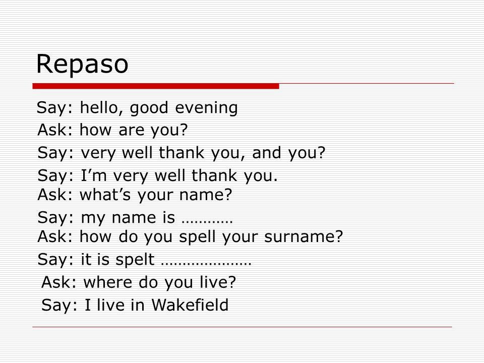 Español para principiantes Lección 3: miércoles, el 6 de febrero, 2008