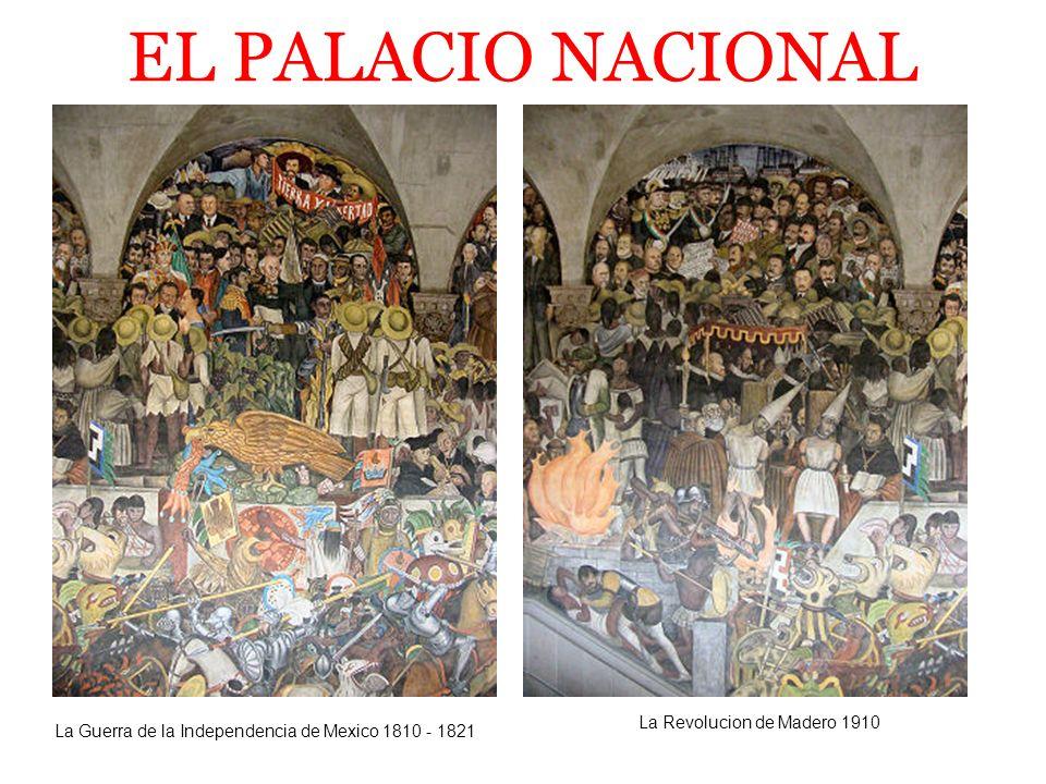 EL PALACIO NACIONAL La Constitución de 1857