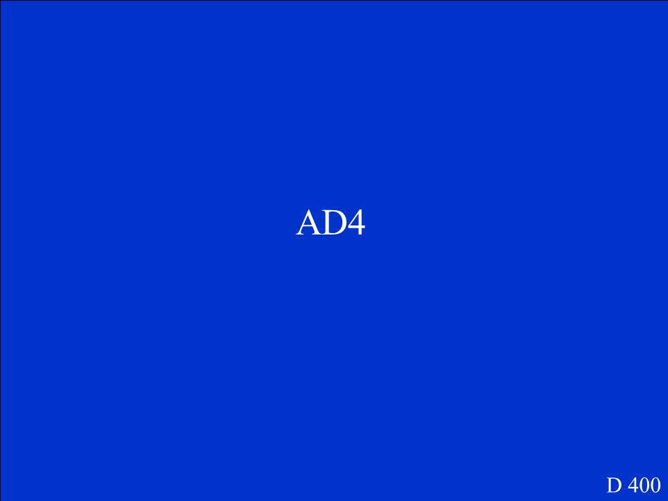 ¿QD4 D 400