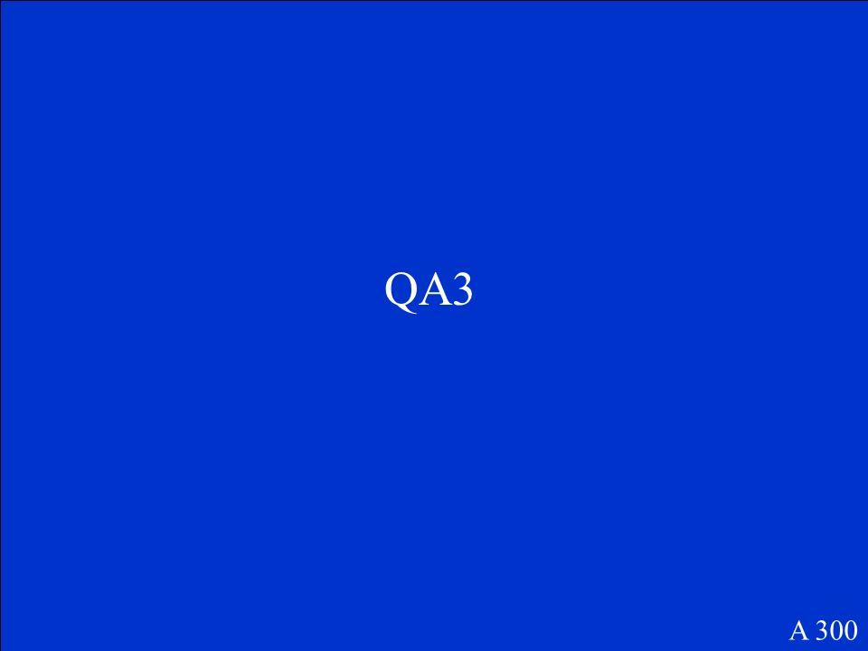 QA3 A 300