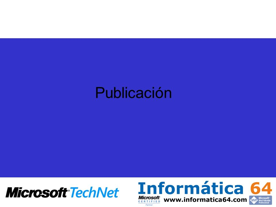 Publicación
