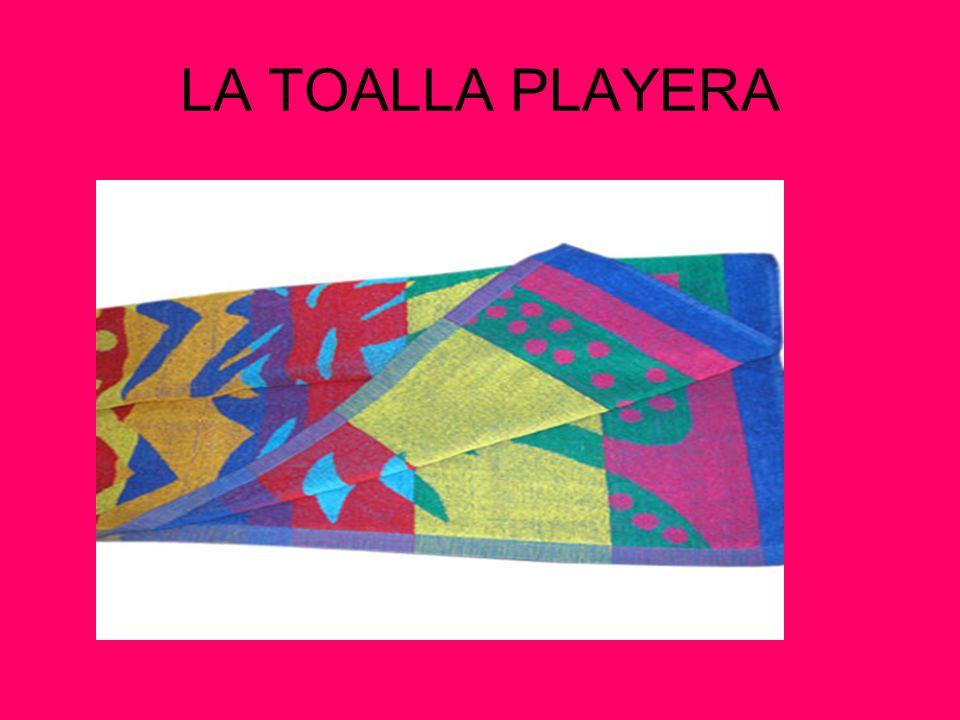 LA TOALLA PLAYERA