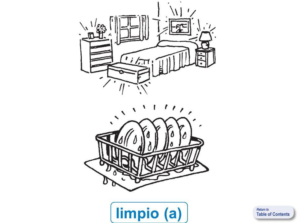 limpio (a)
