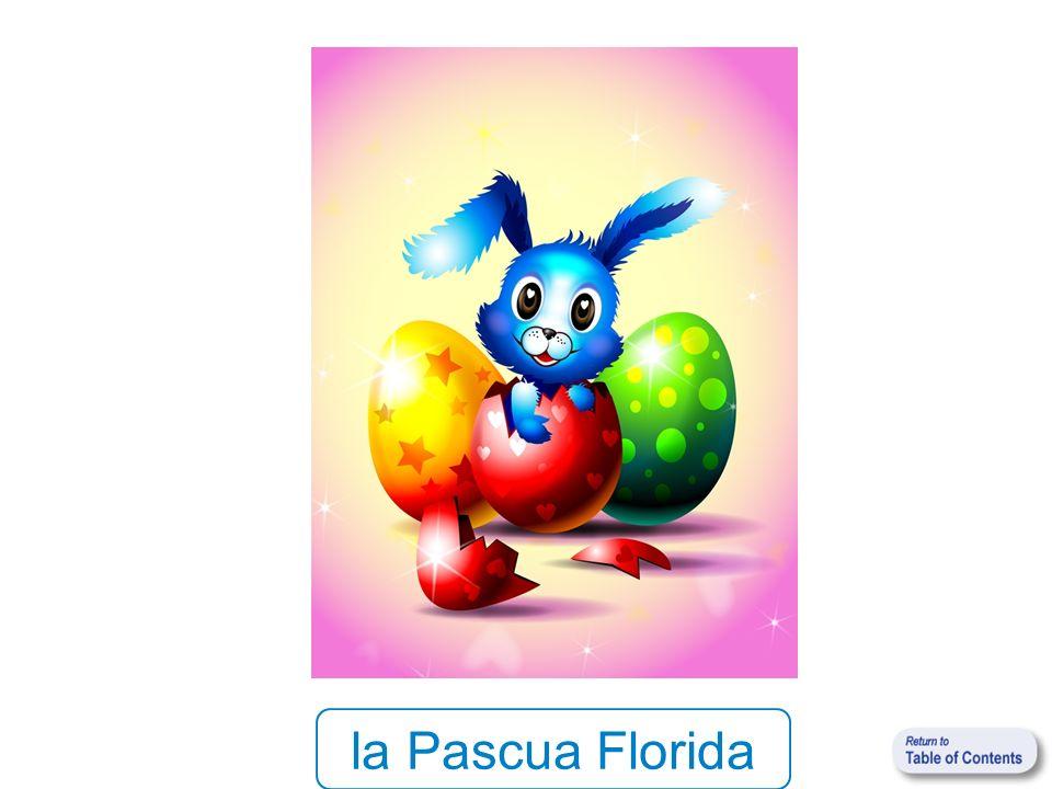 la Pascua Florida