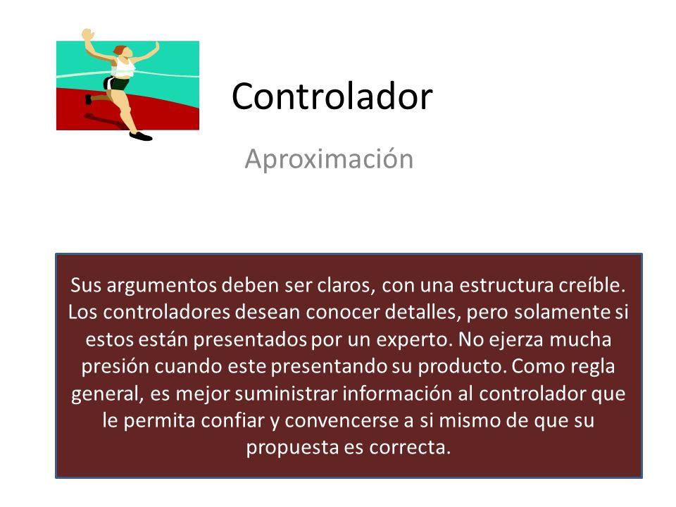 Controlador Características Lógicos Racionales Orientados al detalle Analíticos precisos Palabras claves para usar Detalles Hechos Justificación Lógic