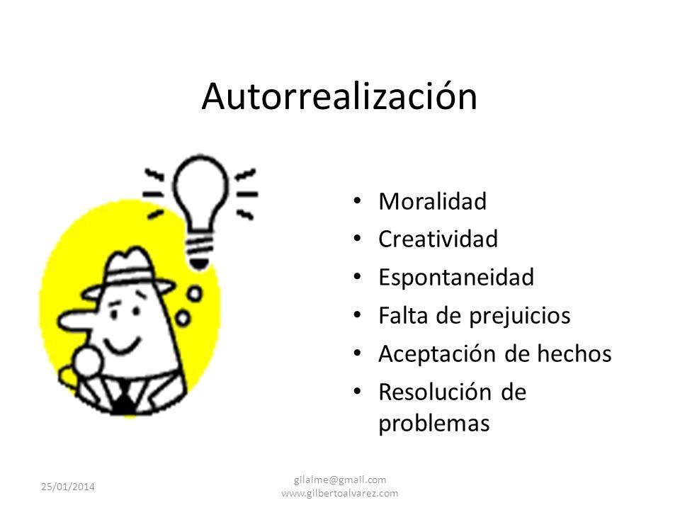 Reconocimiento Auto reconocimiento Confianza Respeto Éxito 25/01/2014 gilalme@gmail.com www.gilbertoalvarez.com